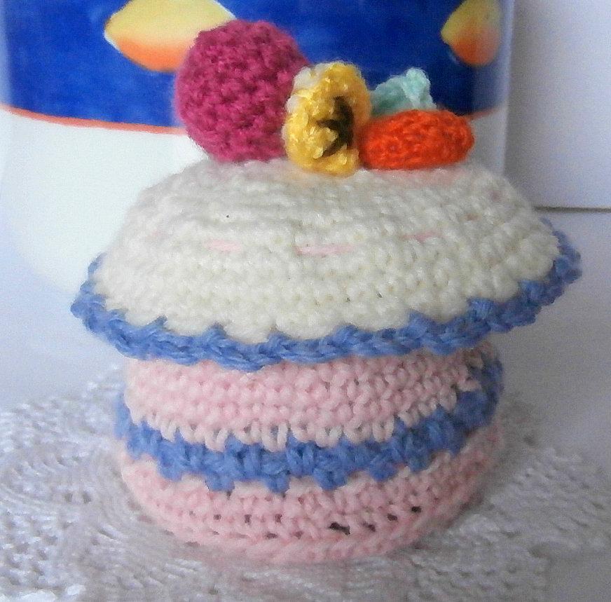 scatolina di lana con frutta ( Amigurumi)