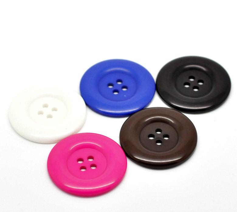 Mix 5 bottoni - 38 mm