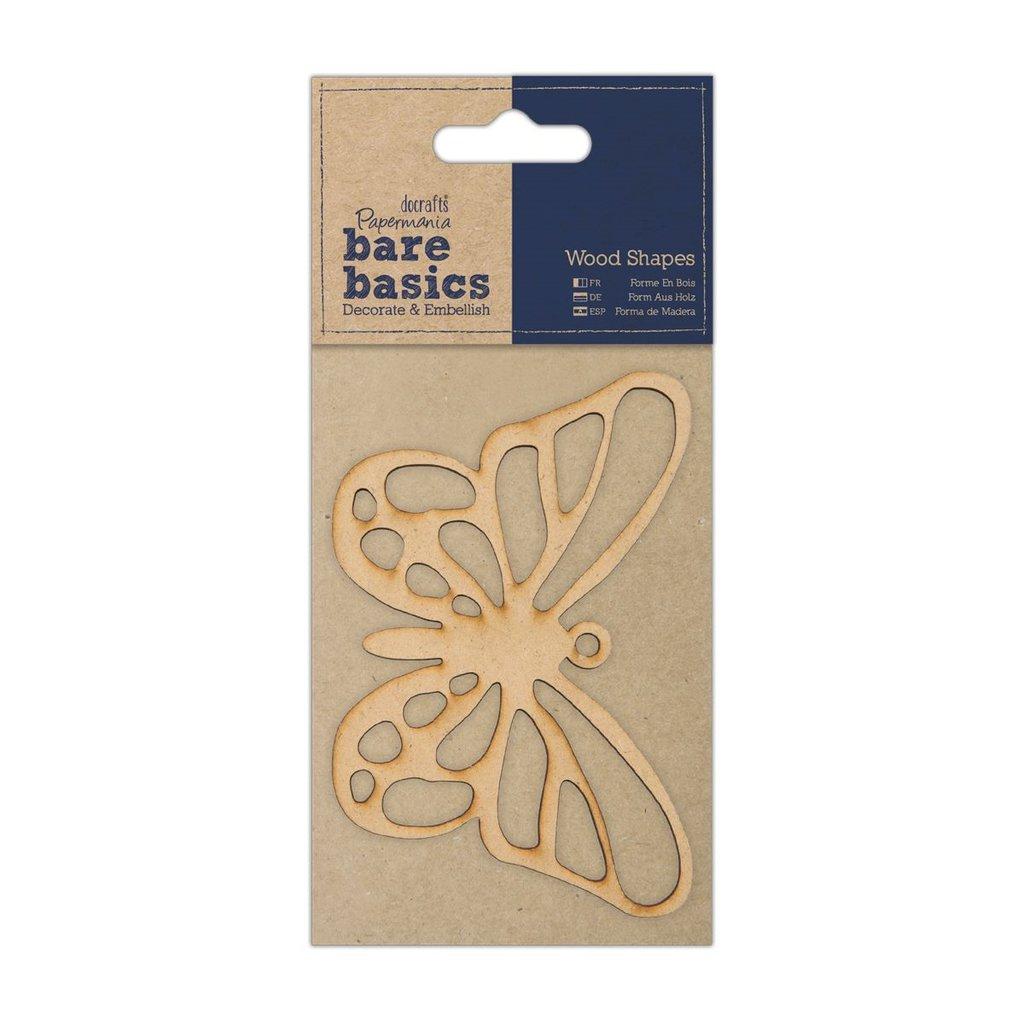 Forma in legno - Farfalla