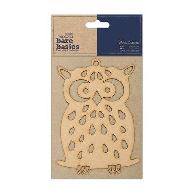 Forma in legno - Gufo