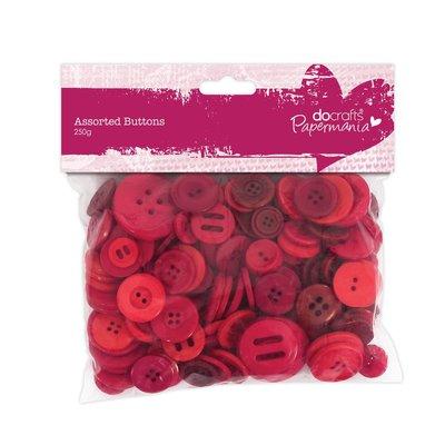 Mix 250 gr bottoni - Rosso