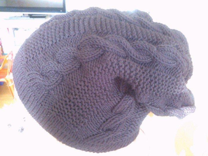 """cappello lana """"trecce"""""""