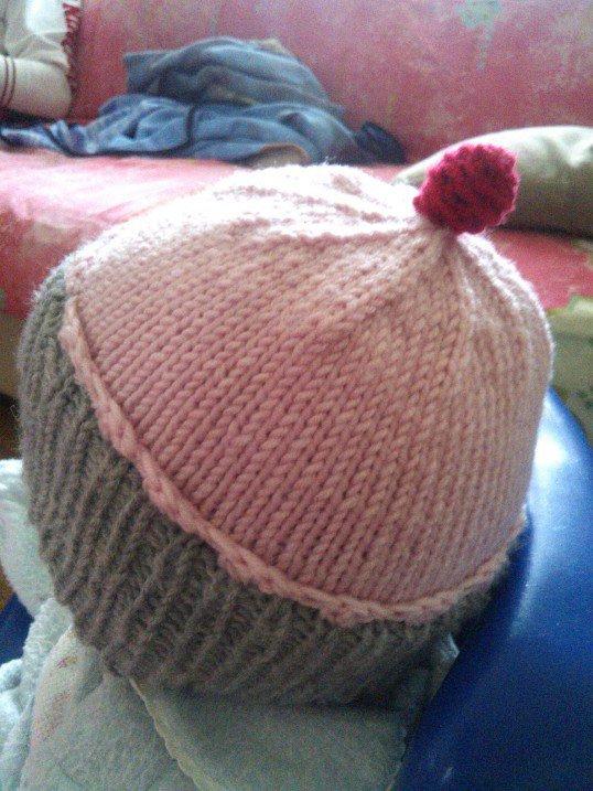 """cappello bambina """"cupcake"""""""