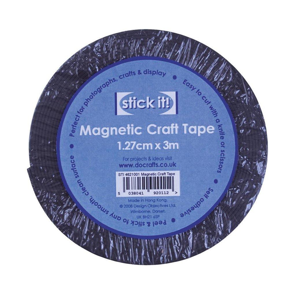 Nastro magnetico adesivo
