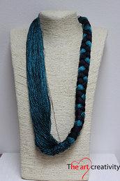 "Collana ""Scintillii azzurri """