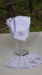 sacchetti confettata bianchi