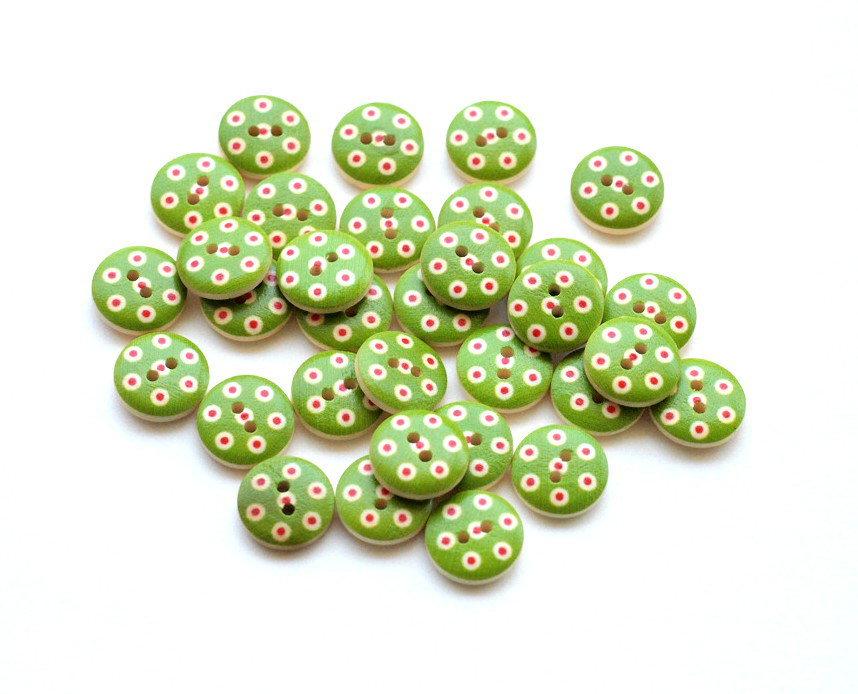 Mix 10 bottoni - 15 mm