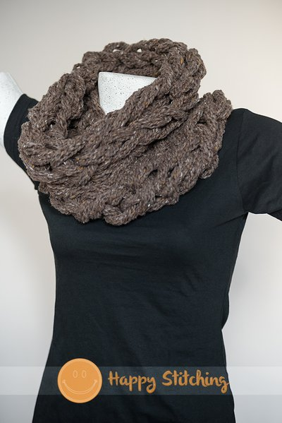 "Scaldacollo  ""Arm Knitting:"""