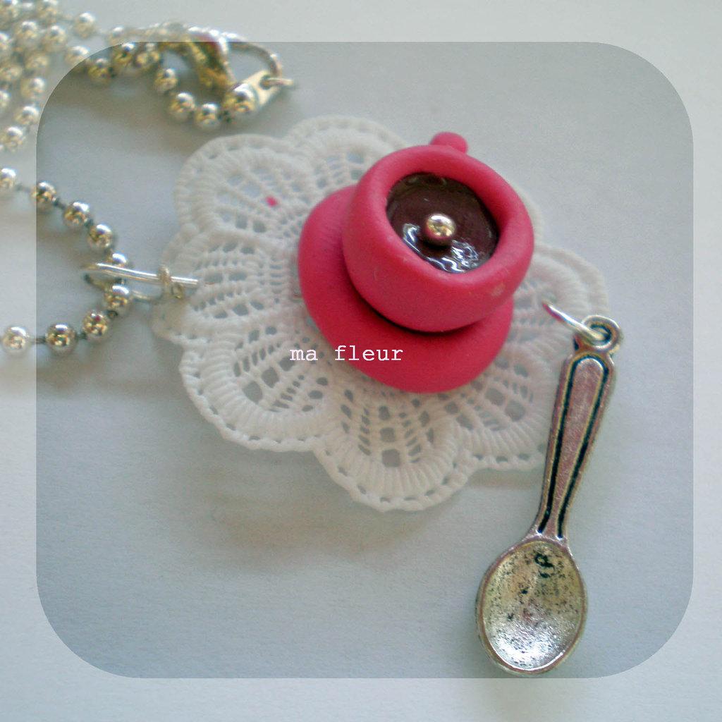 SPOONFUL OF SUGAR necklace