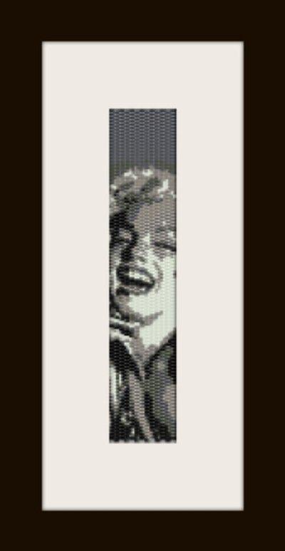 PDF schema bracciale Marilyn 3 in stitch peyote pattern - solo per uso personale