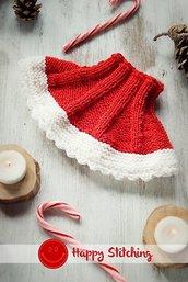 Coprispalle lana rosso