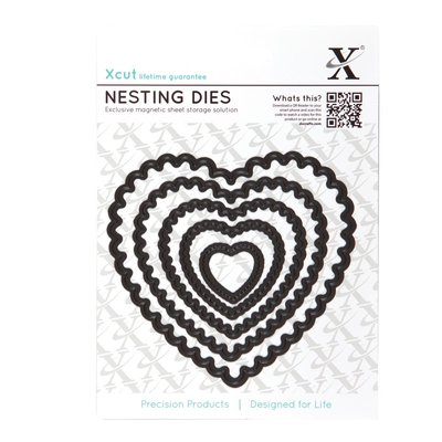 Set fustelle Xcut - Scalloped Heart