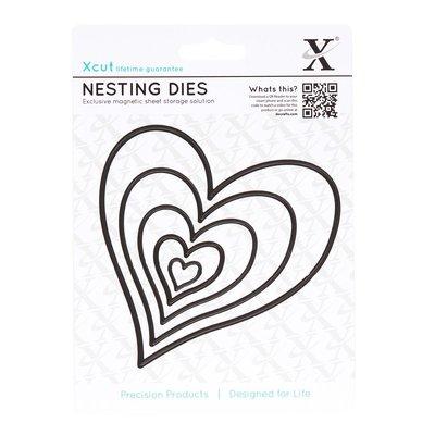 Set fustelle Xcut - Homespun Heart