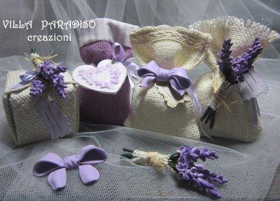 bomboniere in lilla