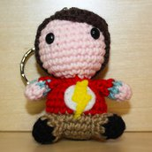 "Pupazzetto uncinetto amigurumi ""Sheldon Cooper"" da ""The Big Bang Theory"""