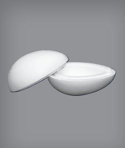 Uovo di polistirolo.