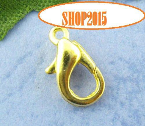 Chiusura moschettone 12 mm dorato