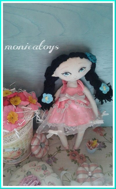 My doll ,dolce bambola di stoffa