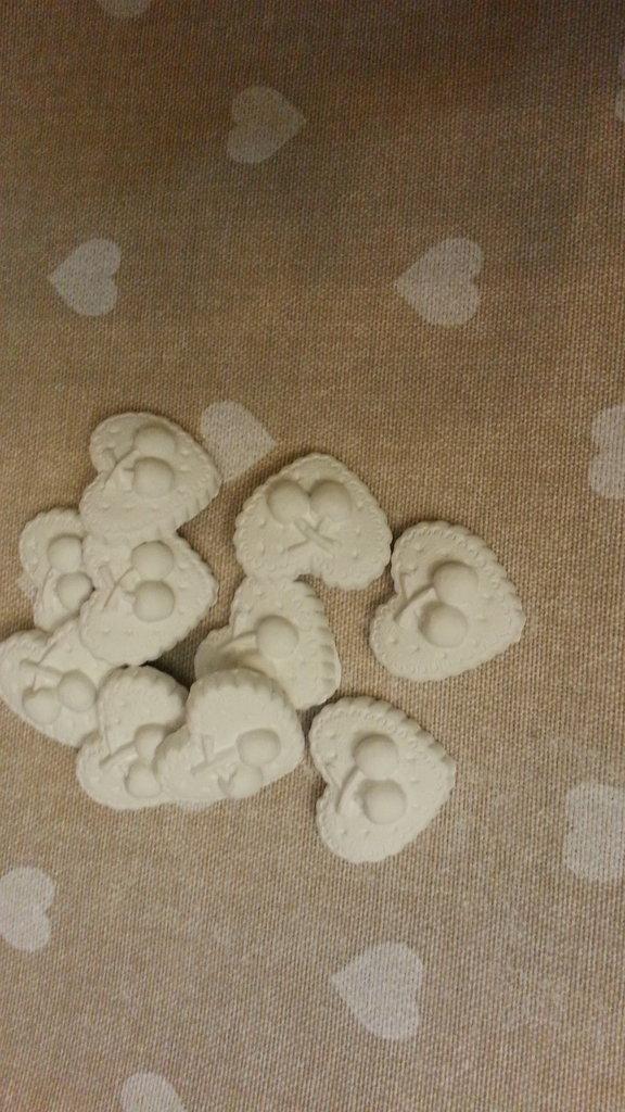 Gessetto profumato  24 pezzi  bomboniere, nascita,matrimonio, casa,battesimo