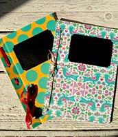 Quaderno appunti fatto a mano idea regalo personalizzabile