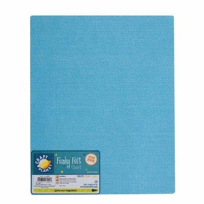 Foglio pannolenci 23x30 cm - Baby Blue