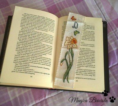 Segnalibro floreale personalizzabile