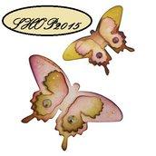 Sizzix Sizzlits   fustella mascherina farfalla mariposa