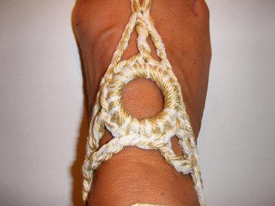 cavigliera crochet gioiello estate
