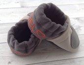 Scarpine babbucce Cuore personalizzate con nome - Bambini 3-6 mesi