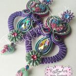 "Orecchini ""Flowery Hearts"""