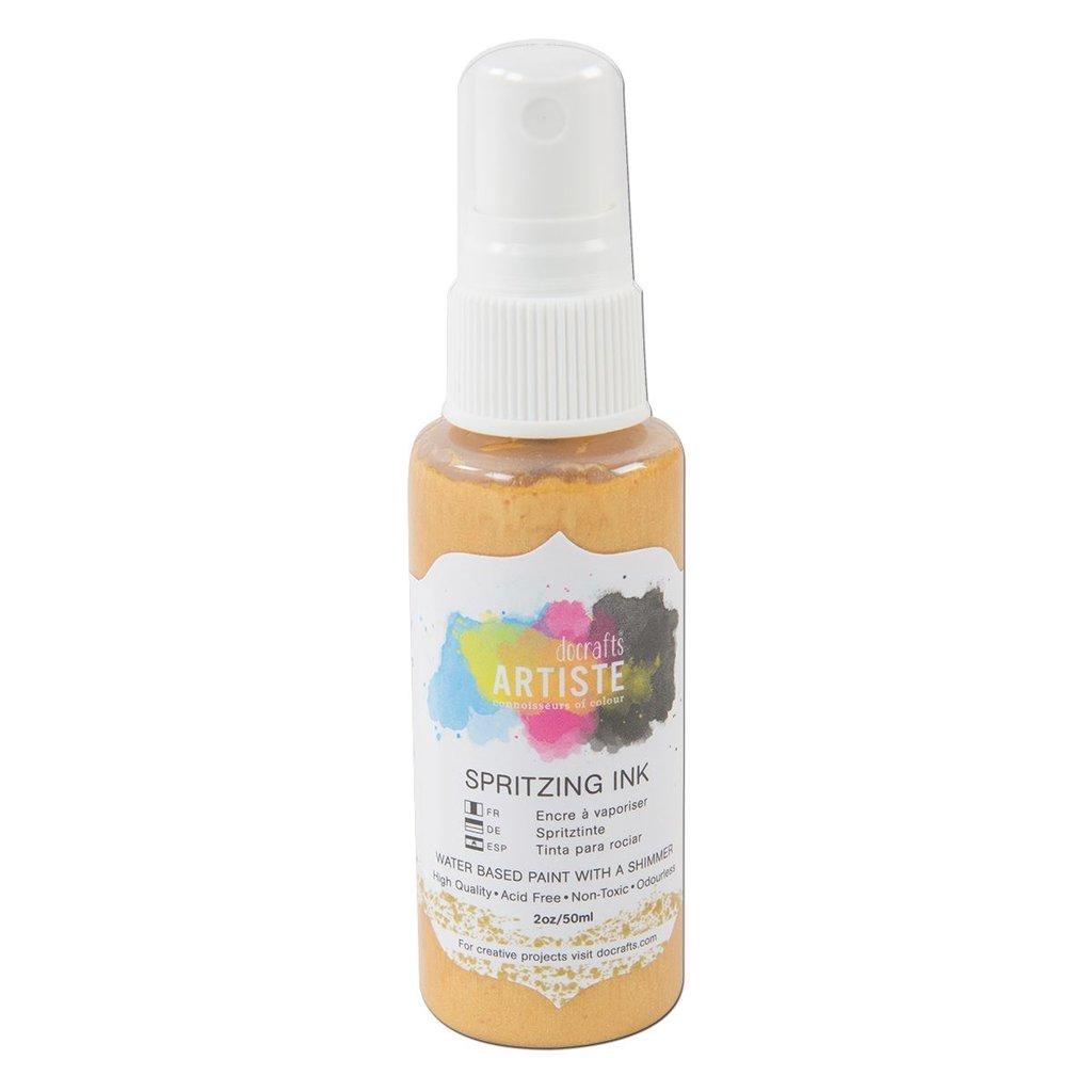 Inchiostro spray - Oro