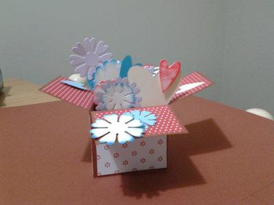 Box card explotion