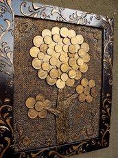 """Quadro """"Albero delle monete"""""""