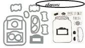 Sizzix  Framelits Set mascherine e timbri-Jar per big shot