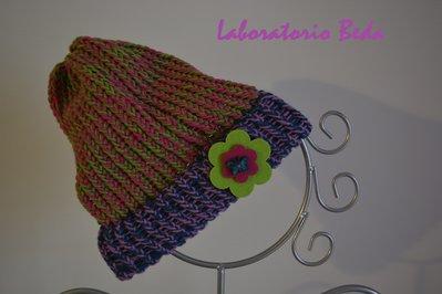 Berretto invernale multicolor