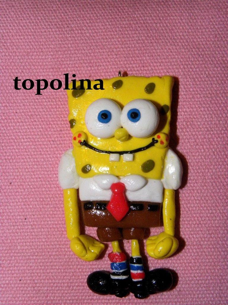 ciondolo spongebob
