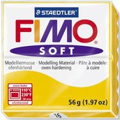 Panetto Fimo Soft 56 gr. - n. 16 giallo girasole
