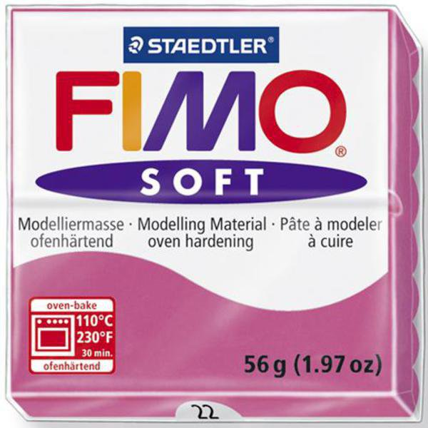 Panetto Fimo Soft 56 gr. - n. 22 lampone