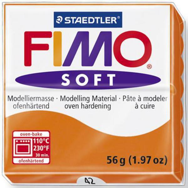 Panetto Fimo Soft 56 gr. - n. 42 mandarino