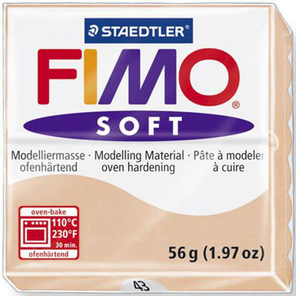 Panetto Fimo Soft 56 gr. - n. 43 carne