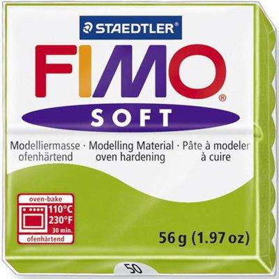 Panetto Fimo Soft 56 gr. - n. 50 verde mela