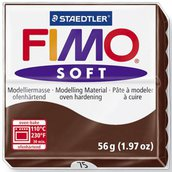 Panetto Fimo Soft 56 gr. - n. 75 cacao