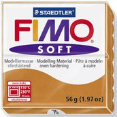 Panetto Fimo Soft 56 gr. - n. 76 cognac