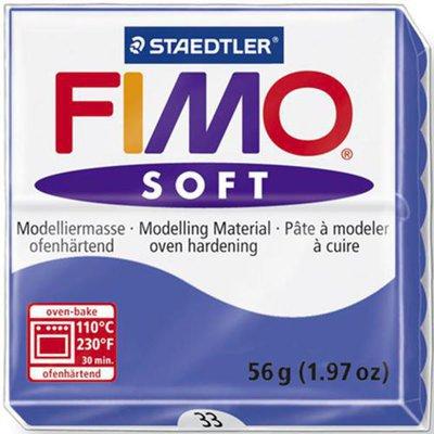 Panetto Fimo Soft 56 gr. - n. 33 blu brillante