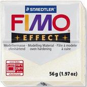 Panetto Fimo Effect 56 gr. - n. 08 bianco metallico