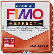 Panetto Fimo Effect 56 gr. - n. 27 rame metallico