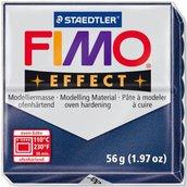 Panetto Fimo Effect 56 gr. - n. 38 blu zaffiro metallico