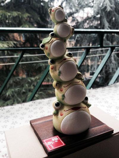 Rana in ceramica 19-284
