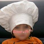 Cappello cuoco chef fatto a mano