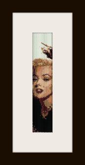 PDF schema bracciale Marilyn 6 in stitch peyote pattern - solo per uso personale